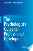 The Psychologist S Guide To Professional Development