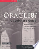 Oracle8i  A Beginner s Guide