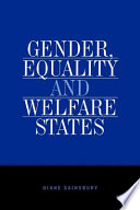 Gender  Equality and Welfare States