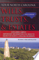 Your North Carolina Wills  Trusts    Estates Explained Simply