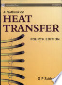 A Textbook on Heat Transfer