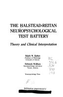 The Halstead Reitan Neuropsychological Test Battery