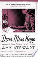 Dear Miss Kopp Book PDF