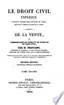 De la vente  ou Commentaire du titre vi  du livre iii du Code civil