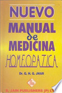 Nuevo Manual De Medicina Homeopatica