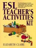 Esl Teacher S Activities Kit