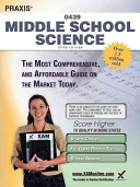 Praxis Middle School Science 0439 Teacher Certification Study Guide Test Prep