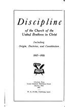 Discipline of the Church of the United Brethren in Christ