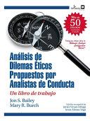 Dilemas Ticos Propuestos Por Analistas De Conducta Un Libro De Trabajo