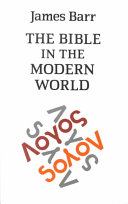 The Bible in the Modern World
