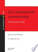 La Constitution Comment E Article Par Article