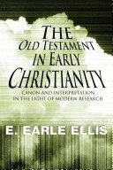 download ebook the old testament in early christianity pdf epub