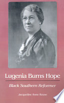 Lugenia Burns Hope  Black Southern Reformer