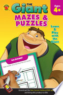 Giant  Mazes   Puzzles  Ages 4   5