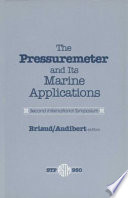The Pressuremeter and Its Marine Applications