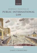 Brownlie's Principles of Public International Law