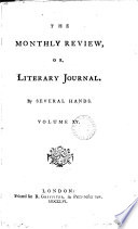 THE MONTHLY REVIEW  OR LITERARY JOURNAL  VOL  XV  JULY 1756