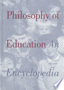 illustration Philosophy of Education, An Encyclopedia