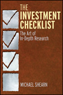 download ebook the investment checklist pdf epub