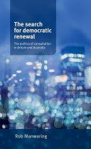 download ebook the search for democratic renewal pdf epub