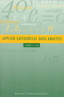 Applied Categorical Data Analysis