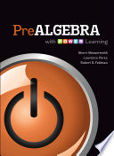 Prealgebra with P OW E R  Learning