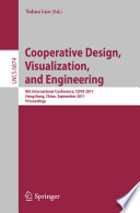 Cooperative Design  Visualization  and Engineering