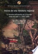 Inicios de una literatura regional