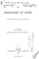 The Folk lore of Rome