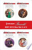 Harlequin Presents May 2015   Box Set 2 of 2