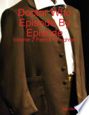 Doctor Who Episode By Episode Volume 2 Patrick Troughton