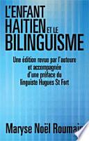 L'Enfant Haitien Et Le Bilinguisme
