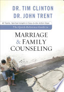 The Quick Reference Guide to Marriage   Family Counseling