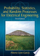 Probability  Statistics  and Random Processes For Electrical Engineering
