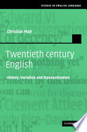 Twentieth Century English