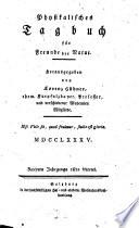 Physikalisches Tagbuch für Freunde der Natur