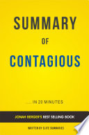 Contagious  by Jonah Berger   Summary   Analysis
