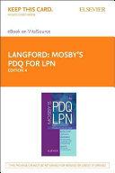 Mosbys PDQ for LPN