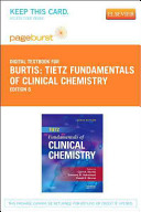 Tietz Fundamentals of Clinical Chemistry Passcode Only