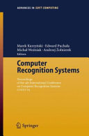 download ebook computer recognition systems pdf epub