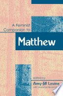 Feminist Companion to Matthew