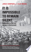 Book It Is Impossible to Remain Silent