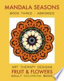 Mandala Seasons 3: Adult Coloring Book (Autumn)