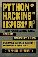 Python Hacking Raspberry Pi 3 book