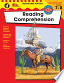 Reading Comprehension Grades 7 8 book