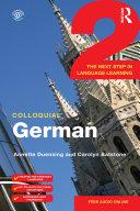 Colloquial German 2 Book