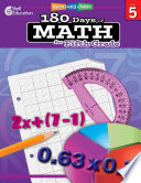 Practice  Assess  Diagnose  180 Days of Math for Fifth Grade