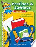 Prefixes   Suffixes Grade 4