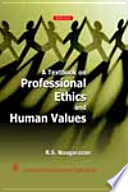 Textbook on Professional Ethics and Human Values