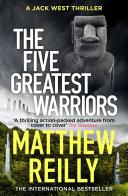 The Five Greatest Warriors Novel The Four Legendary Kingdoms